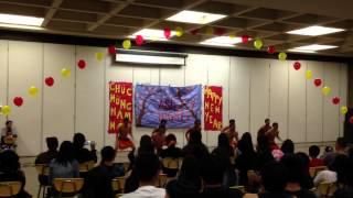 Haka  Dance ASU Night Los Amigos High School 2013