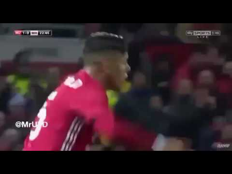 Marcos Rojo & Phil Jones vs West Ham