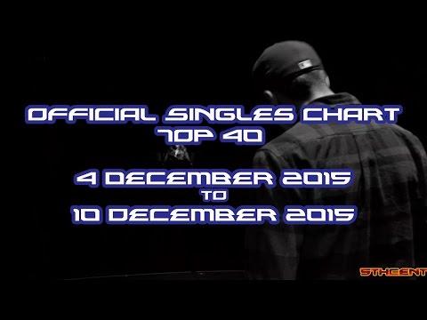 Official Charts (UK): Top 40 Singles (04 December 2015 - 10 December 2015)
