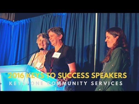 Keystone Community Services - 2016 Keys to Success Program Speakers