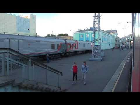 прибытыие и отправление со станции Киров Горьковской железной дороги