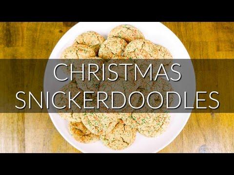 Christmas Snickerdoodles Alex Pollich