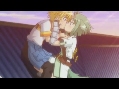 Dog Days 2 Scene - Shinku & Eclair Kissing[Eng Sub]