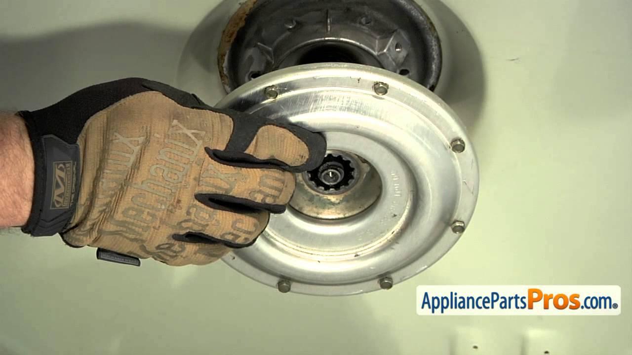 Washer bearing part wp22003441 how to replace youtube for Washing machine motor bearings