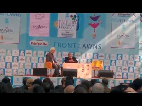 VS Naipaul at Jaipur Literature Festival 2015