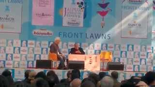 VS Naipaul at Jaipur Literature Festival 2015