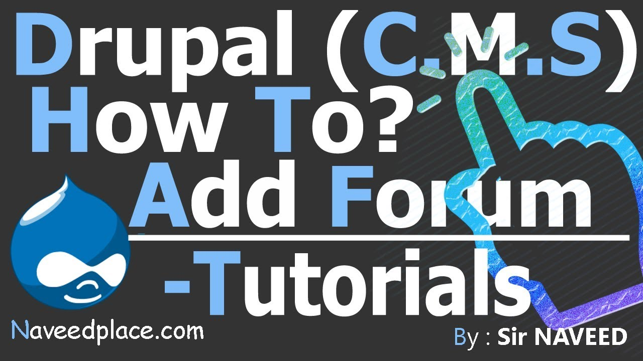 Drupal cms forum creation tutorials youtube drupal cms forum creation tutorials baditri Images