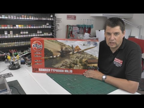 Airfix 1/24 Hawker Typhoon Mk1b review