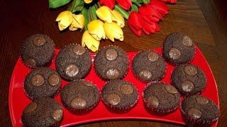 Классические ШОКОЛАДНЫЕ Маффины //Сhocolate Muffins//Рецепт от Cooking with LOVE
