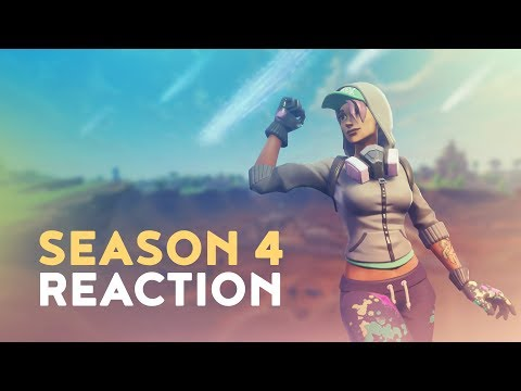 SEASON 4 REACTION (Fortnite Battle Royale)