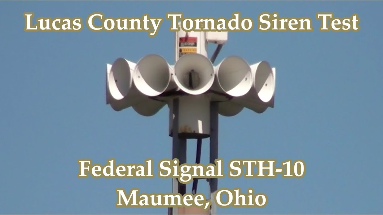 Ohio lucas county maumee - Maumee Oh Federal Sth 10 Siren Test 9 2 16