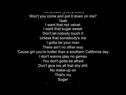 Maroon 5 - Sugar Lyrics