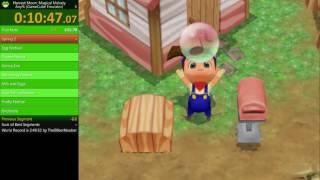 Harvest Moon: Magical Melody - Any% Speedrun (PB: 3:05:54)