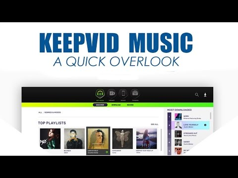 KeepVid Music: A Quick Overlook.