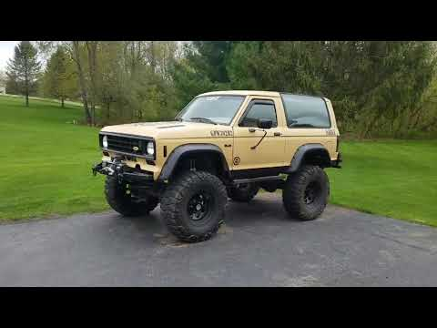"Dan's V8 Solid Axle Swapped Bronco II ""SARGE"" Walk Around"
