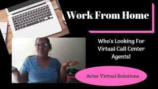 Work From Home | Virtual Call Center Agent Opportunities | Chanina Lindsey