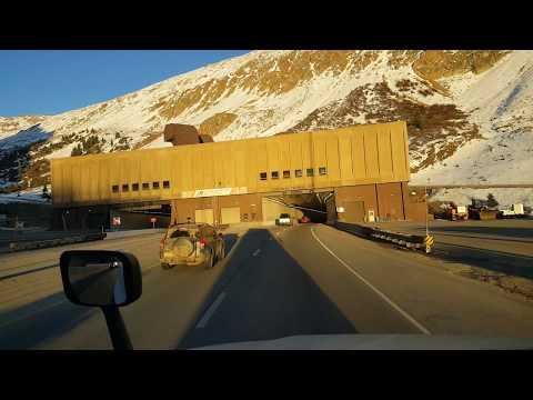 BigRigTravels Eisenhower-Johnson Tunnel Interstate 70 East-Oct. 21, 2018