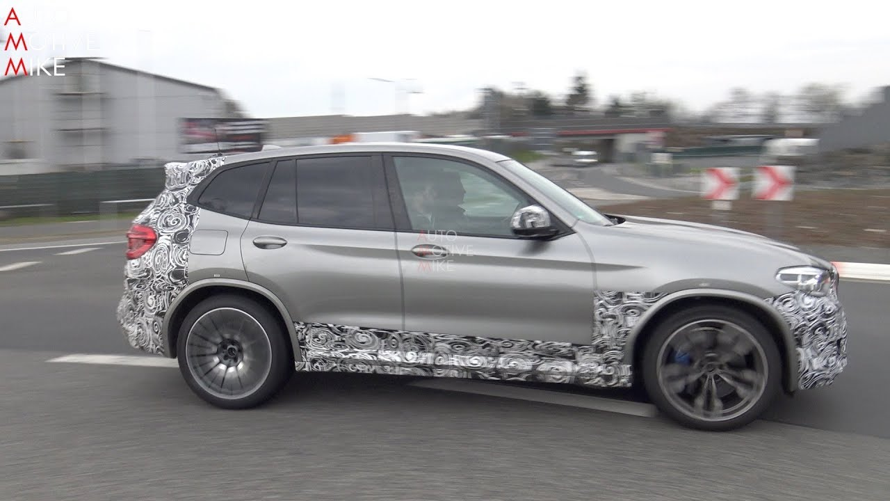 2019 BMW X3 M SPIED TESTING AT THE NÜRBURGRING