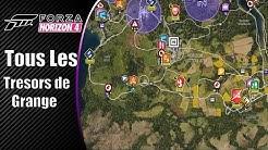 FORZA HORIZON 4 - Tous les Trésors de Grange 'Emplacement'x11