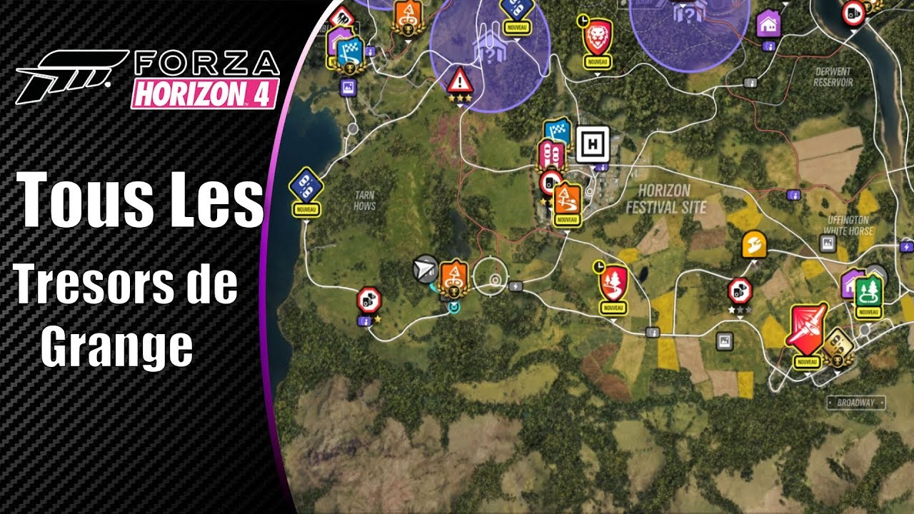 forza horizon 4 tous les tr sors de grange emplacement x11 youtube. Black Bedroom Furniture Sets. Home Design Ideas