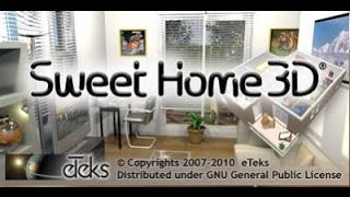 Sweet home 3D обзор + ссылка