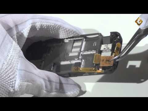 Ремонт Nokia 3600 Slide - замена шлейфа кнопки включения