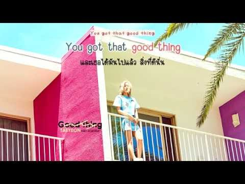 Free Download [karaoke/thaisub] Taeyeon (태연) - Good Thing Mp3 dan Mp4