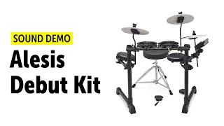 Alesis   Debut Kit   E-Drum Set   Sound Demo