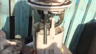ВАЗ 2110/2112 , замена фильтра бензонасоса