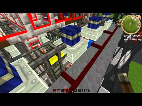 Tekkit Ep11 - BuildCraft Power Station - Oil Fabrication, Fuel Refining and Infinite Water Pumping