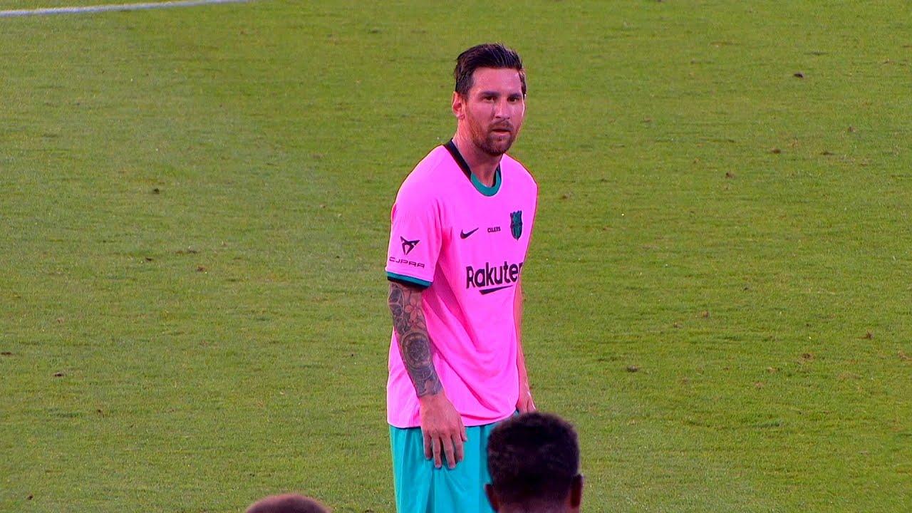 Lionel Messi vs Girona   Friendly 2020