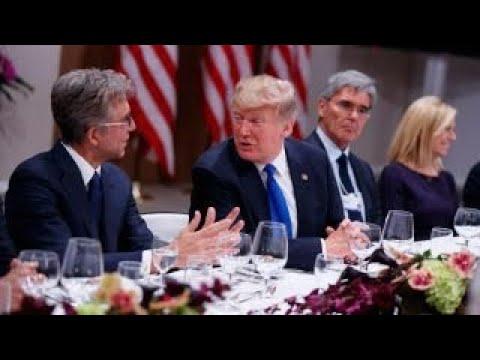 Trump pushes 'America First' agenda in Davos