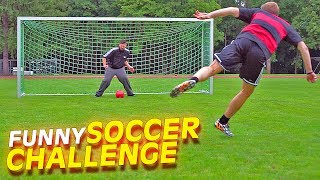 FUNNY GERMAN YOUTUBER FOOTBALL CHALLENGE