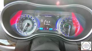 2015 Chrysler 300 MultiView Display Overview | Video Tutorial | Tech Help