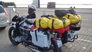 Motorradreise mit dem Ural-Gespann nach Norwegen & Schweden - Teil 1: Anreise