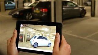 Fiat's 3D Lifesize Virtual Vehicle