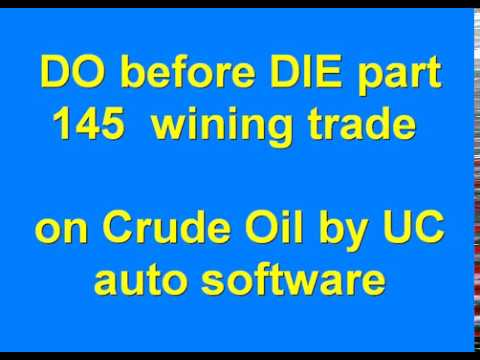 DO before DIE part 145 Automated Algo Trading Software from Ultachaal on MCX Crude Oil