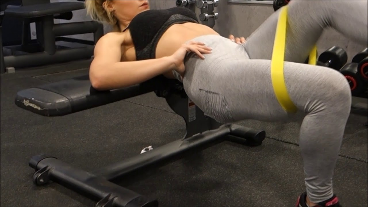 How To: Barbell Hip Thrust - YouTube