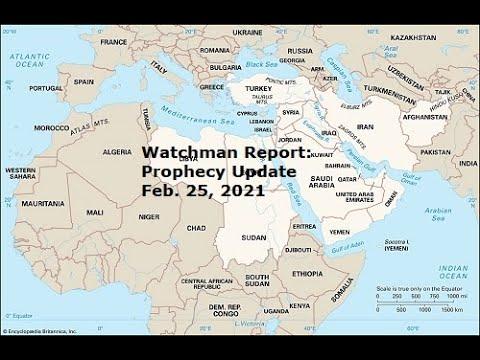 Prophecy Update: 2-25-21 Future attack on Erbil, Iraq - the Kurds-Medes will align with Iran-Persia.