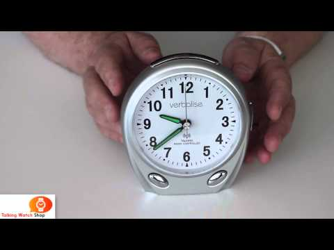 Talking Radio Controlled Clock by Verbalise