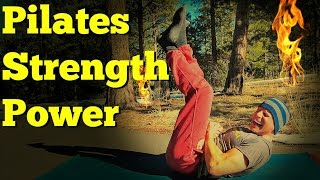 Full Pilates Workout for Strength and Power - 25 min Power Pilates Total Body Class #pilatesworkout