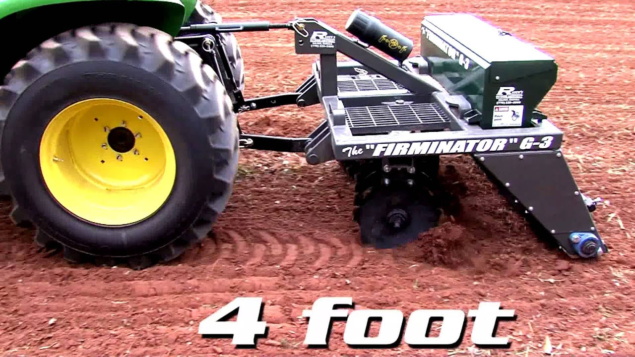 The Firminator: The Best Food Plot Implement On Earth
