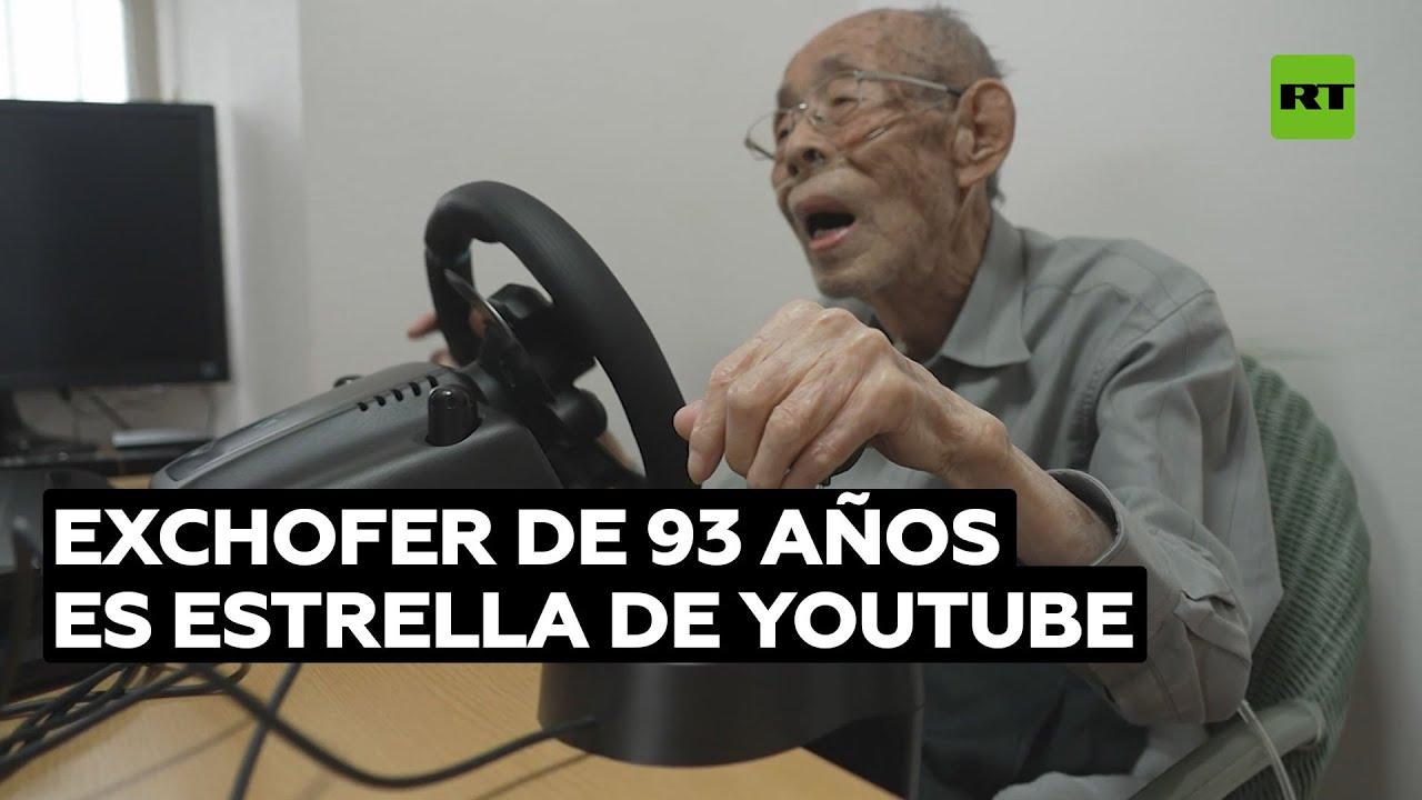 Exchofer de 93 años se convierte en estrella de los juegos de carreras @RT Play en Español