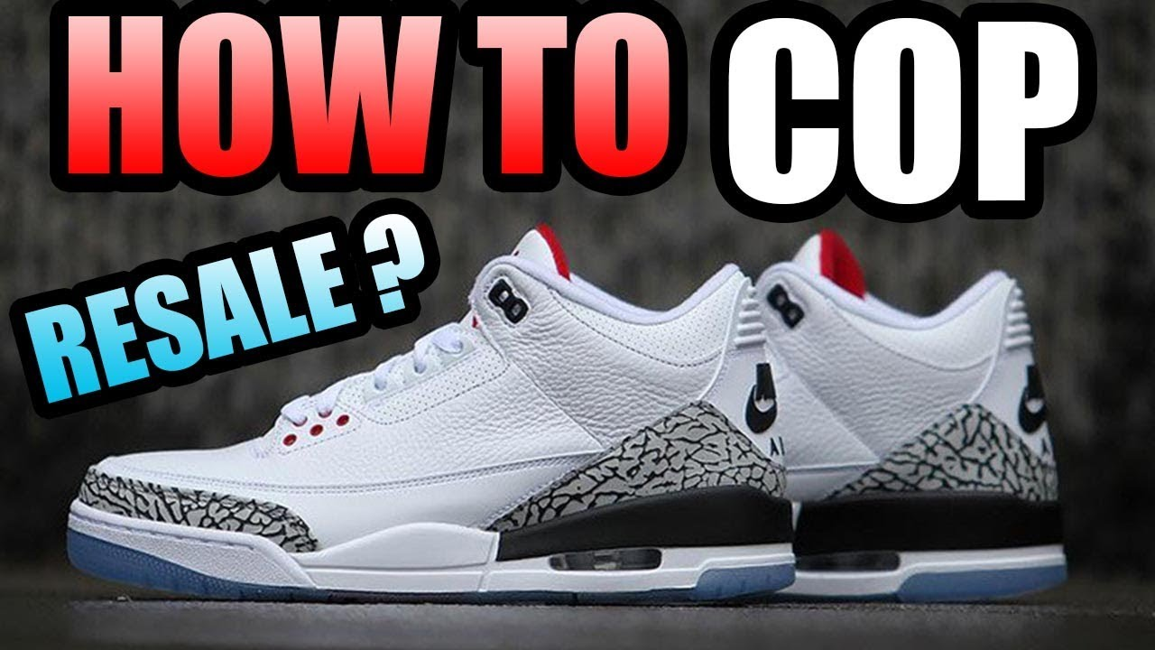 free shipping 46b17 bd35e How To Get The WHITE CEMENT 3 !  DUNK CONTEST JORDAN 3 Release Info !