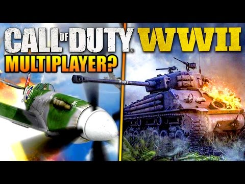 Call of Duty: WORLD WAR 2 - Vehicles in MULTIPLAYER? (+ EPIC COMPETITION)