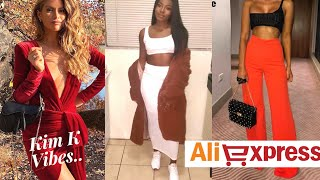 ALIEXPRESS SEXY, DATE NIGHT TRY-ON HAUL  2019 ???? KIM K VIBES | MISSERINYVETTE