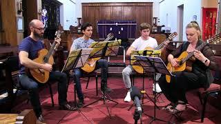 gallito by santiago lope for guitar quartet