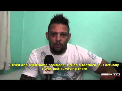 Babalu Sobral on fight with Fedor: I was wanting it to be over; toughest guy I ever fought