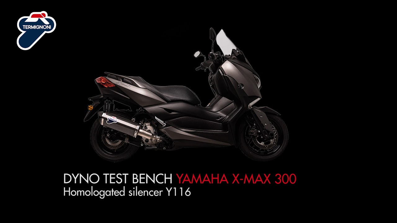 Termignoni - Homologated silencer for YAMAHA X-MAX 300