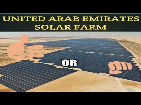 UAE Solar Power Farm